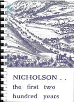 Nicholson…the first two hundred years