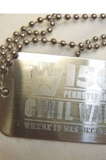Civil War Dog Tag