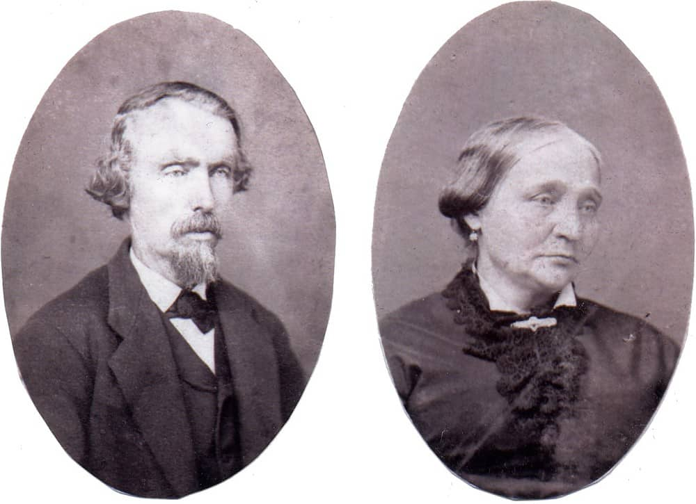 Carl and Catherine HENNINGER