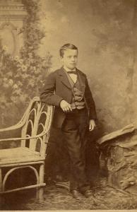 Eddie Stevens, unknown location [WCHS Database photo]