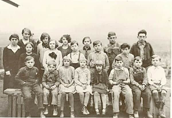 Lymanville School, May 1929