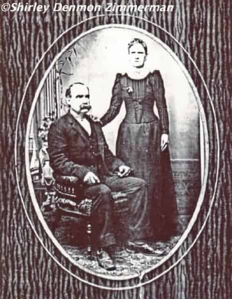 Jacob and Elizabeth (KREWSON) DENMON