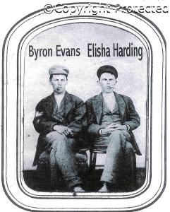 Byron EVANS and Elisha HARDING
