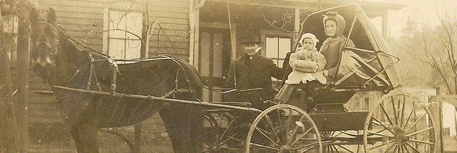 Family-in-carriage