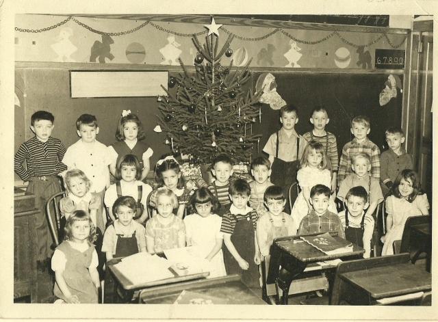 Mehoopany School children, c1948;