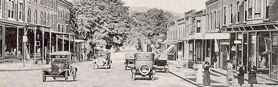 Early Tioga Street Tunkhannock