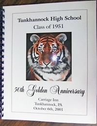 THS 1951 Reunion book