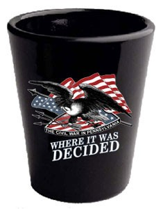 Civil War Shot Glass