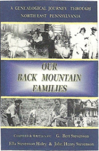 Our Back Mountain Families cover