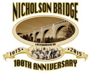 Nicholson Bridge Centennial logo