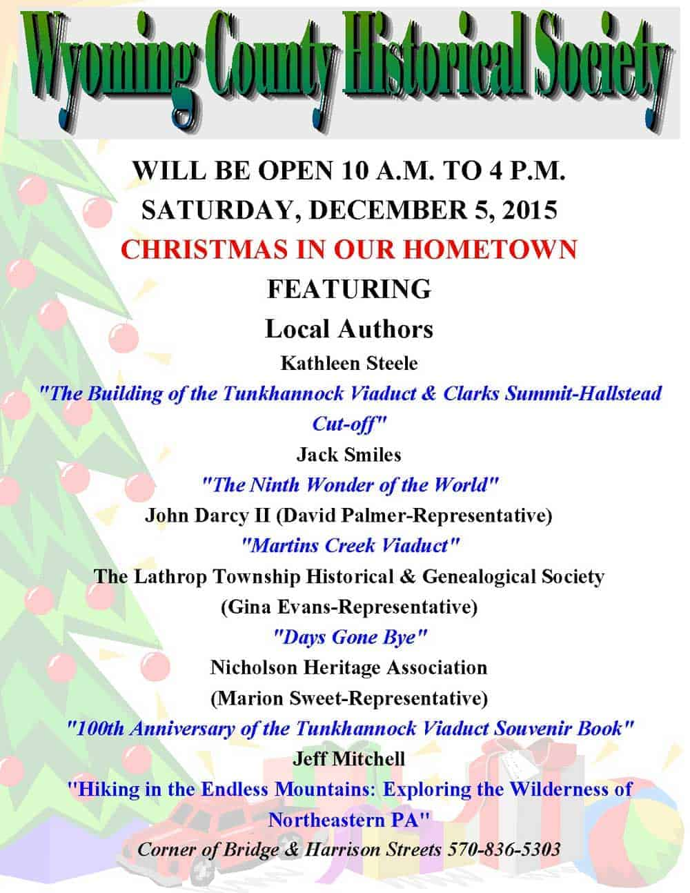 Christmas In Our Hometown 2015