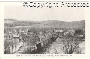 Tunkhannock river bridge