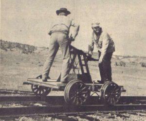 railroad handcar