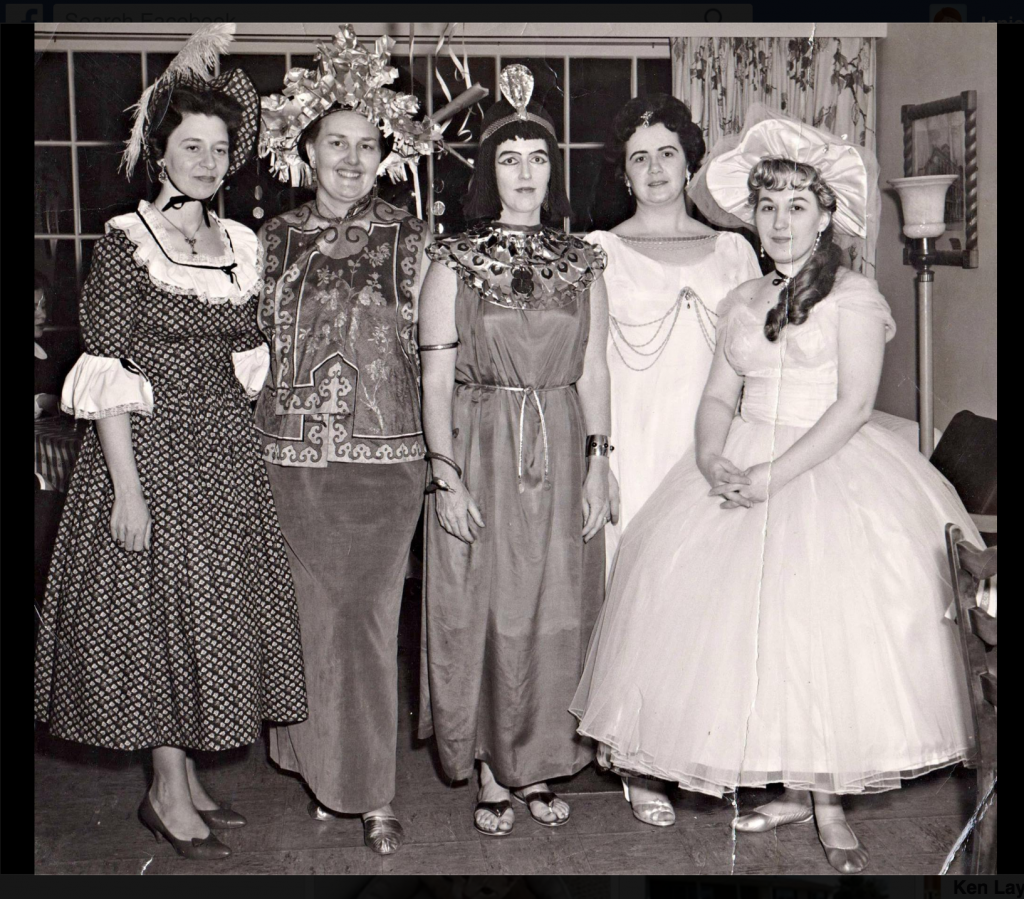 1964 costumes in Tunkhannock
