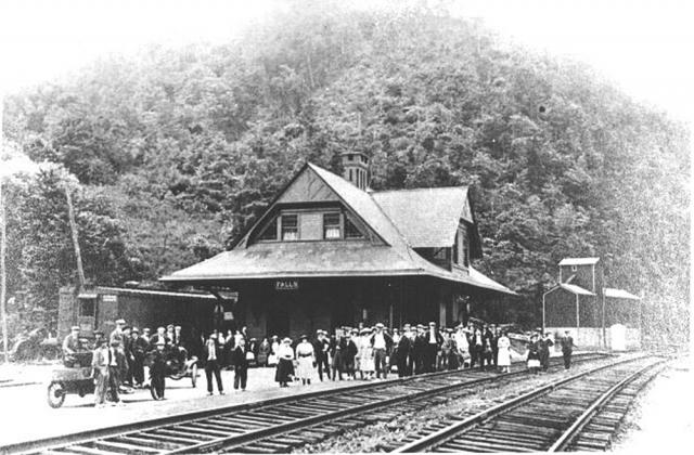 Falls Railroad Depot