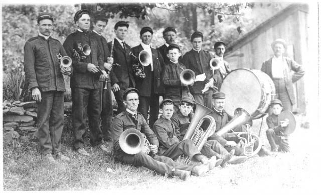 The Falls cornet band
