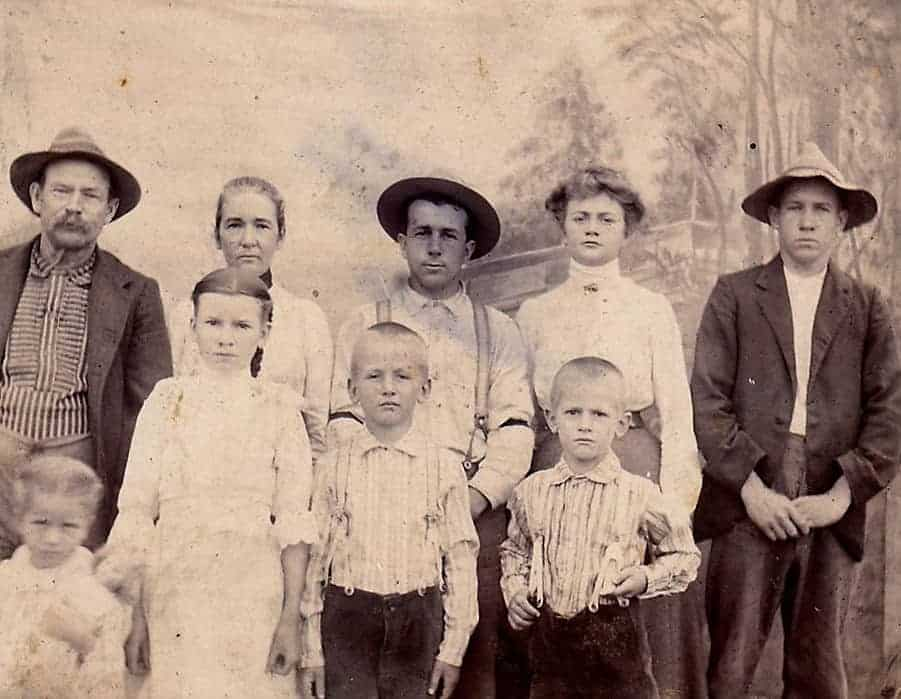 John & Elizabeth Denmon family(Shirly Denmon Zimmerman)