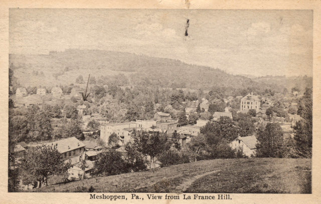 Meshoppen, PA from LaFrance Hill