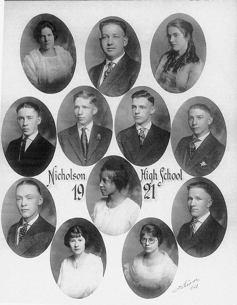 Nicholson HS Class of 1921 (Greg Palaskas)