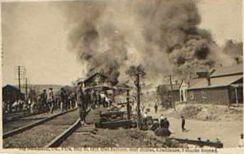 Nicholson (PA) Fire of 1914