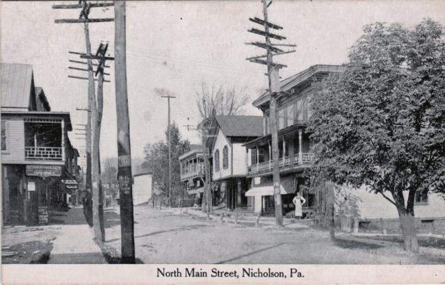 Nicholson main street