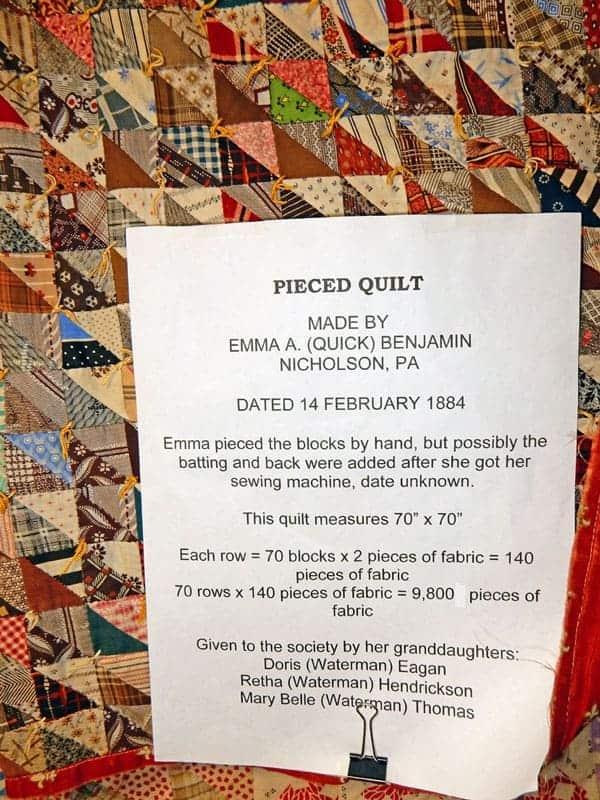 Pieced-quilt