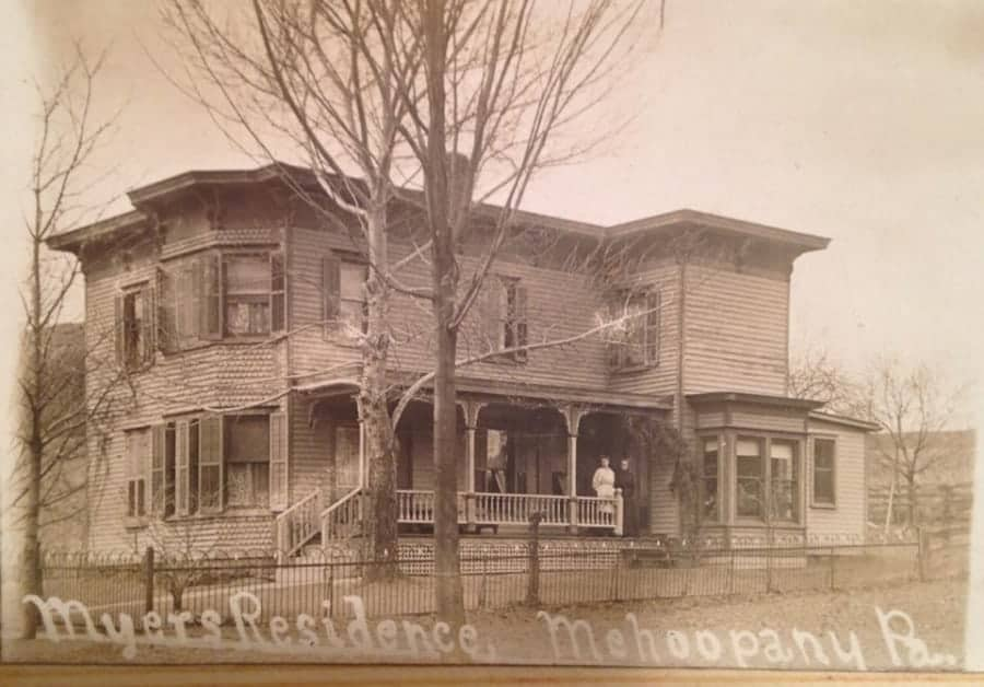 Myers/Henning house in Mehoopany, PA