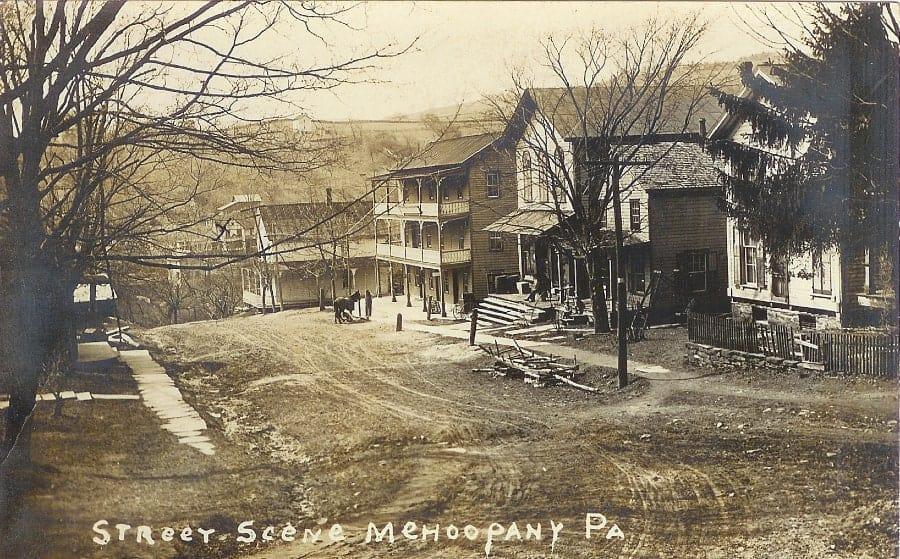 Mehoopany street scene