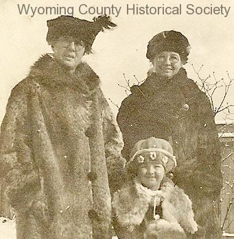 Close-up of winter trio