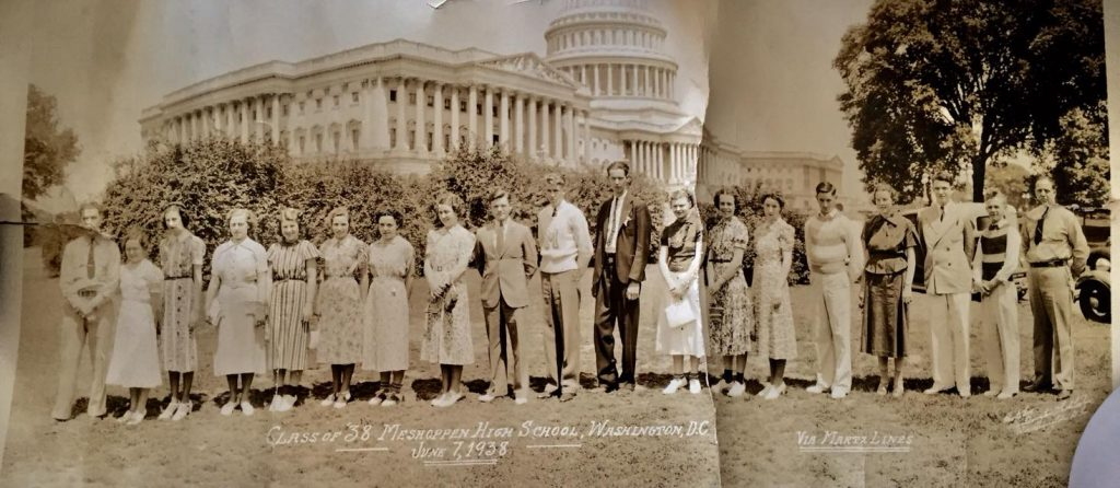1938 Meshoppen High School trip (Mark Taluba)