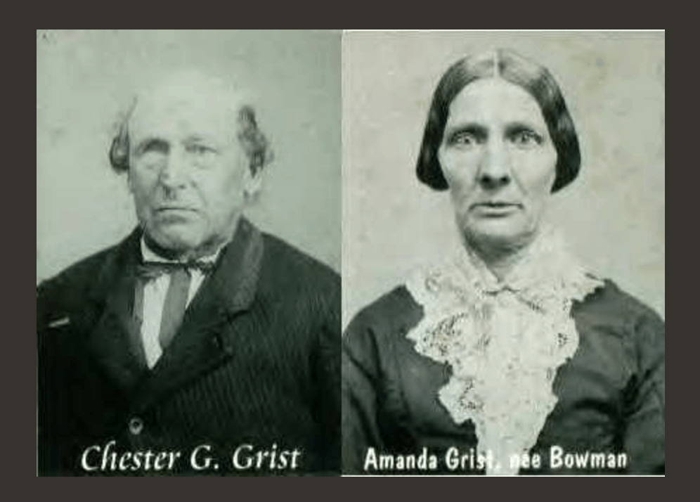 Chester and Amanda GRIST