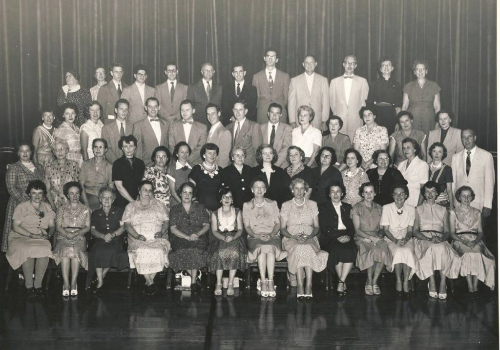 Tunkhannock School Faculty c1955 (Lasco Burke)