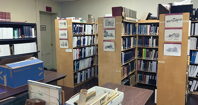 Genealogical library