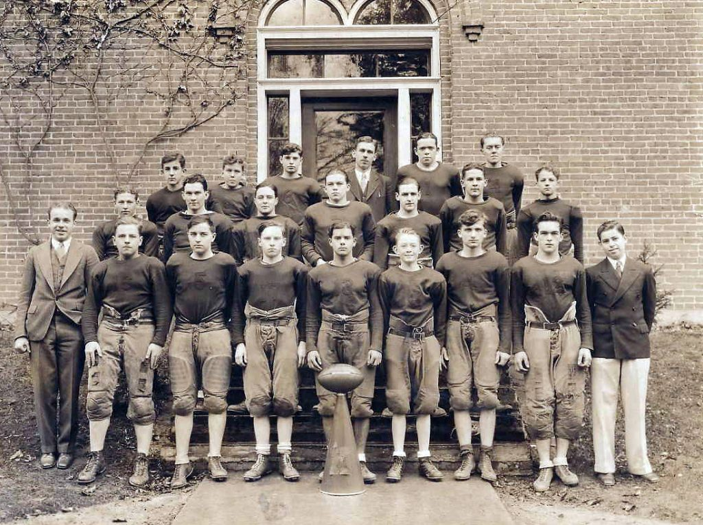 Keystone Academy football c1930