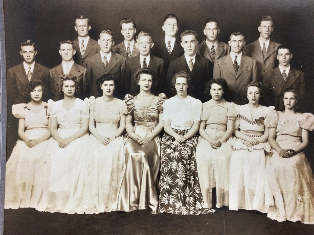 Laceyville High School Class of 1943